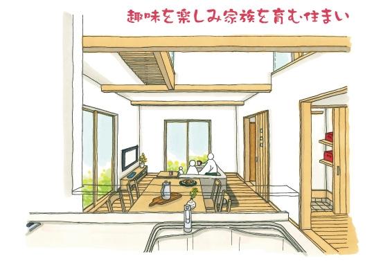 趣味を楽しむ住まい|静岡市清水区完成見学会