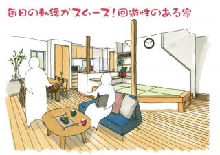 【予約制】回遊性のある家|島田市完成見学会