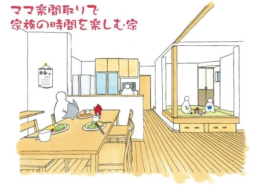 【予約制】ママ楽間取りで家族の時間を楽しむ家|静岡市完成見学会