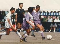 サッカー少年だった頃
