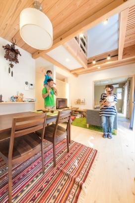 木の香りが包む子どもがすくすく育つ家