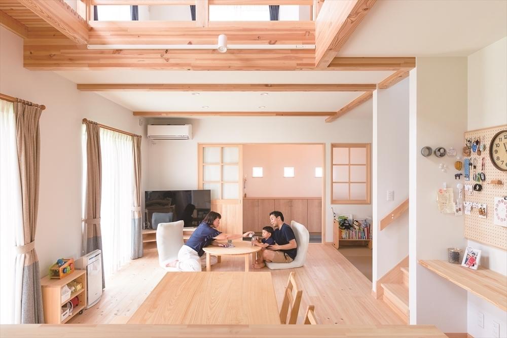 子どもが健やかに育つ自然素材の家