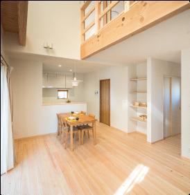 木の家 ひのきの床
